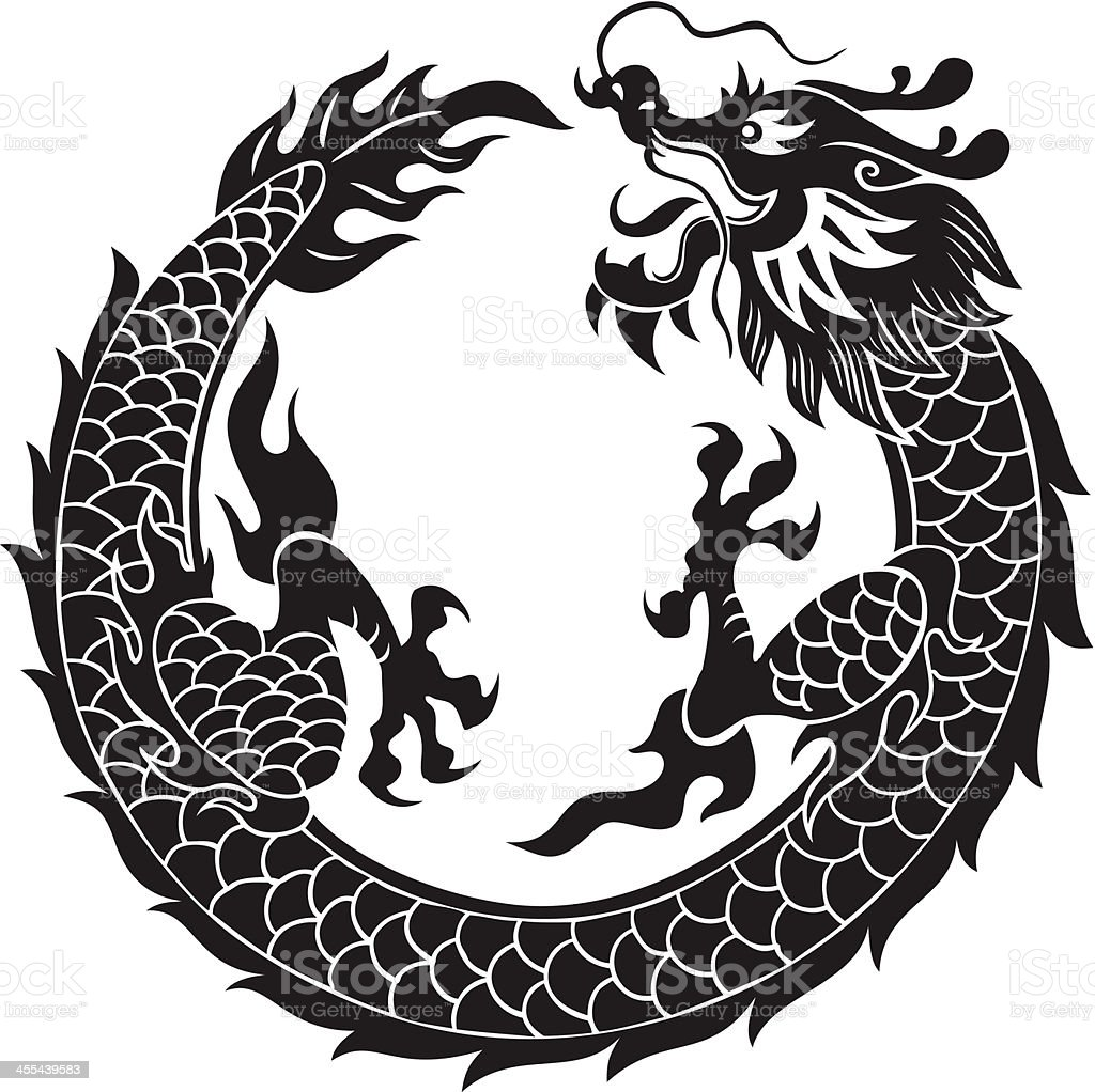 royalty free chinese dragon clip art vector images illustrations rh istockphoto com chinese dragon vector png chinese dragon vector download
