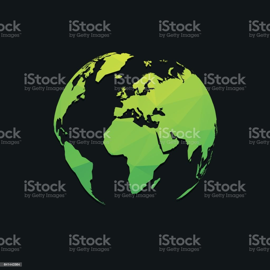 Black earth globe world map design stock vector art more images of black earth globe world map design royalty free black earth globe world map design stock gumiabroncs Image collections