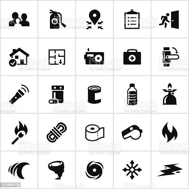 Black emergency preparedness icons vector id513384109?b=1&k=6&m=513384109&s=612x612&h=ulzrwpaj7zgefvqd4 yd4blcpelhz004umh5432eniq=