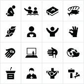 Black Faith Icons