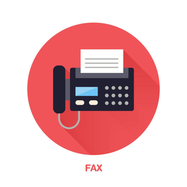 Royalty Free Fax Machine Clip Art, Vector Images -9538
