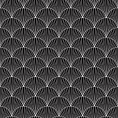 Black fish scales