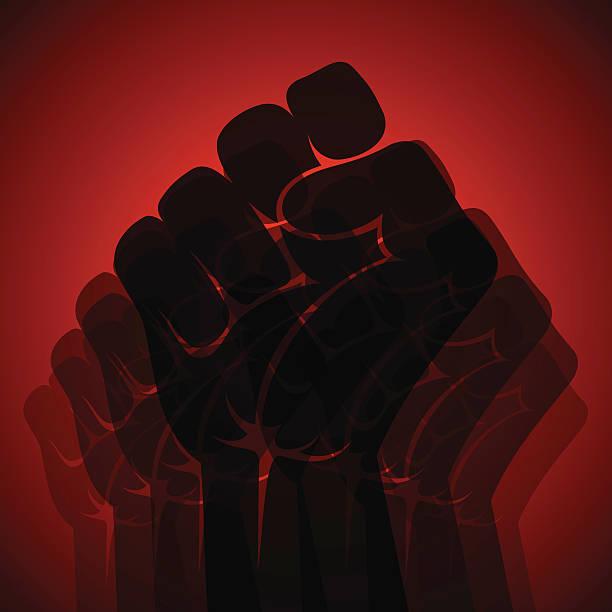 unity 컨셉입니다 - black power stock illustrations
