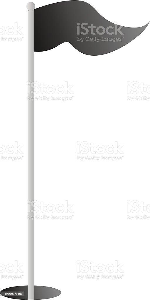 Bandera negro ilustración de bandera negro y más banco de imágenes de agujero libre de derechos