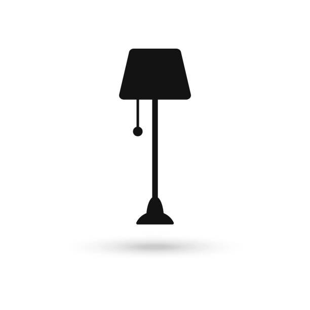 Floor Lamp Vector Art & Graphics | freevector.com