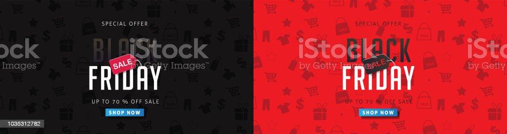 black friday 22 Black friday sale banner layout design template. Vector illustration Advertisement stock vector