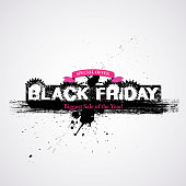"This illustration is a background of the text for ""Black Friday""."