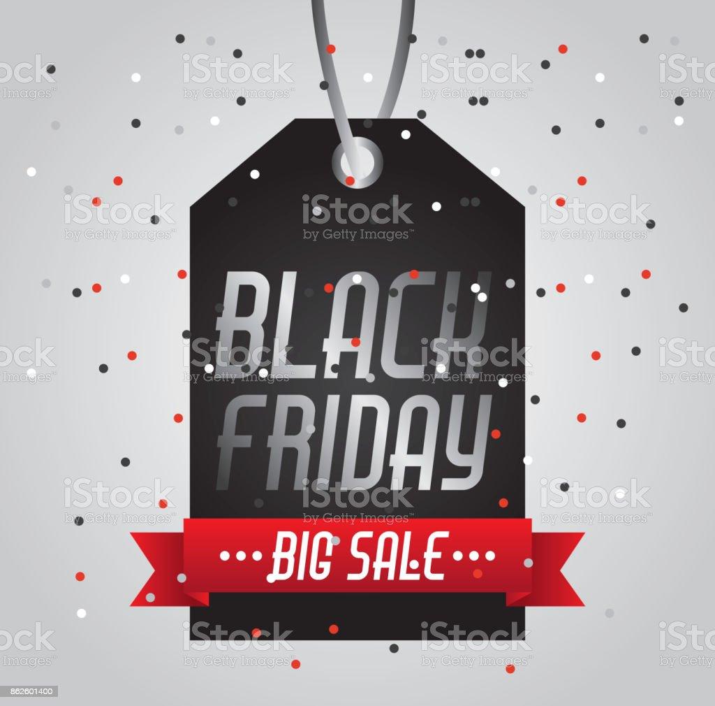 53089de8bbd black friday big sale tag price shopping confetti royalty-free black friday  big sale tag