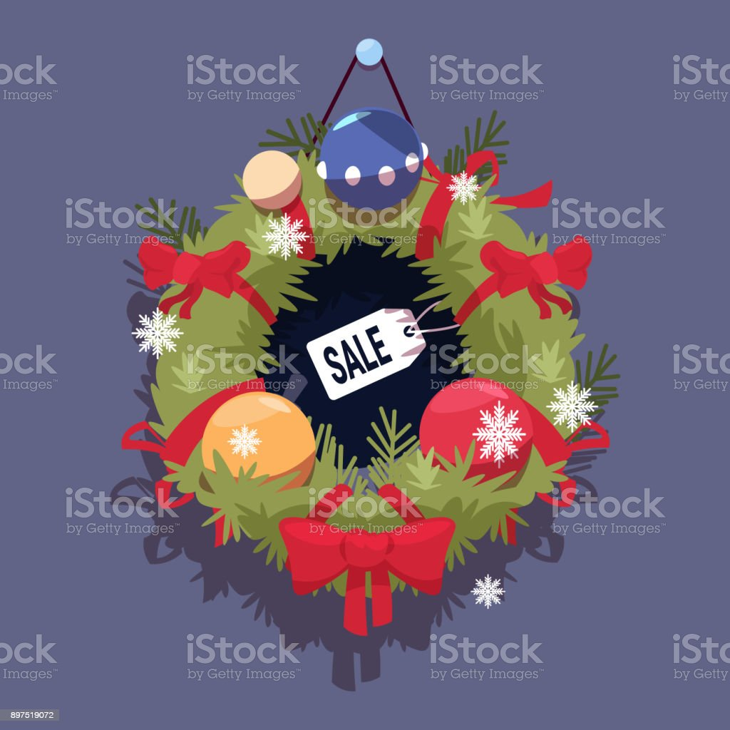 black friday christmas and happy new year promotion banner seasonal holiday discount label royalty free - Black Friday Christmas Decorations