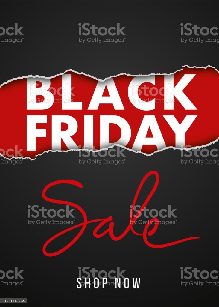 Black Friday design for advertising, banners, leaflets and flyers. - Royalty-free A Escada do Sucesso arte vetorial