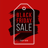 Black Friday design for advertising, banners, leaflets and flyers. Stock illustration
