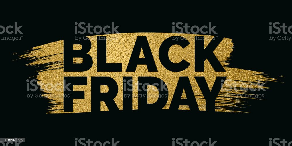 Black Friday design for advertising, banners, leaflets and flyers. - Royalty-free Arte arte vetorial