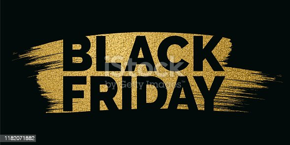 istock Black Friday design for advertising, banners, leaflets and flyers. 1182071882