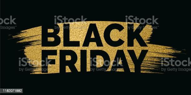 Black Friday Design For Advertising Banners Leaflets And Flyers - Arte vetorial de stock e mais imagens de Arte