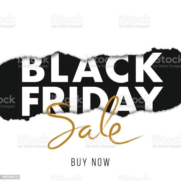 Black Friday Design For Advertising Banners Leaflets And Flyers Stock Illustration - Download Image Now