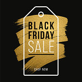 Black Friday design for advertising, banners, leaflets and flyers. Illustration