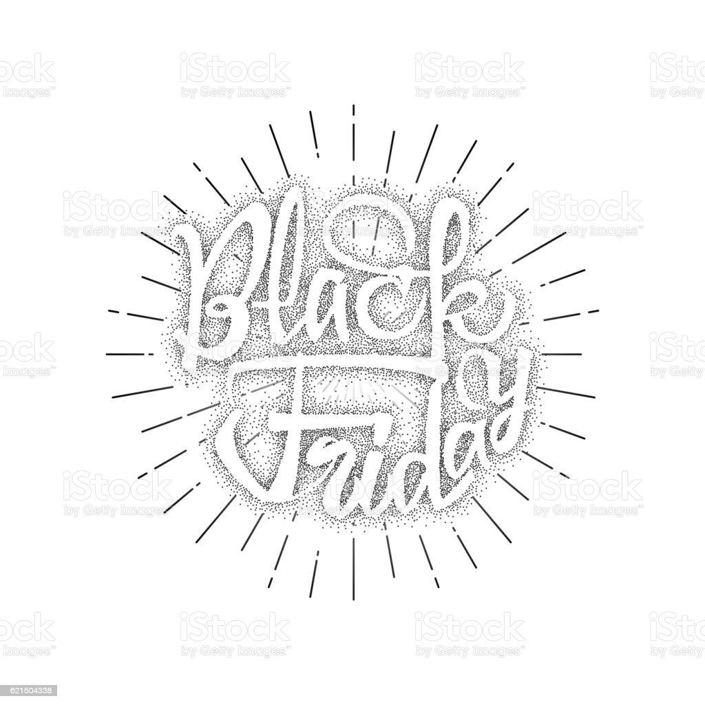Black Friday dotworking sale - stickers, badges, has written calligraphy black friday dotworking sale stickers badges has written calligraphy - immagini vettoriali stock e altre immagini di black friday royalty-free