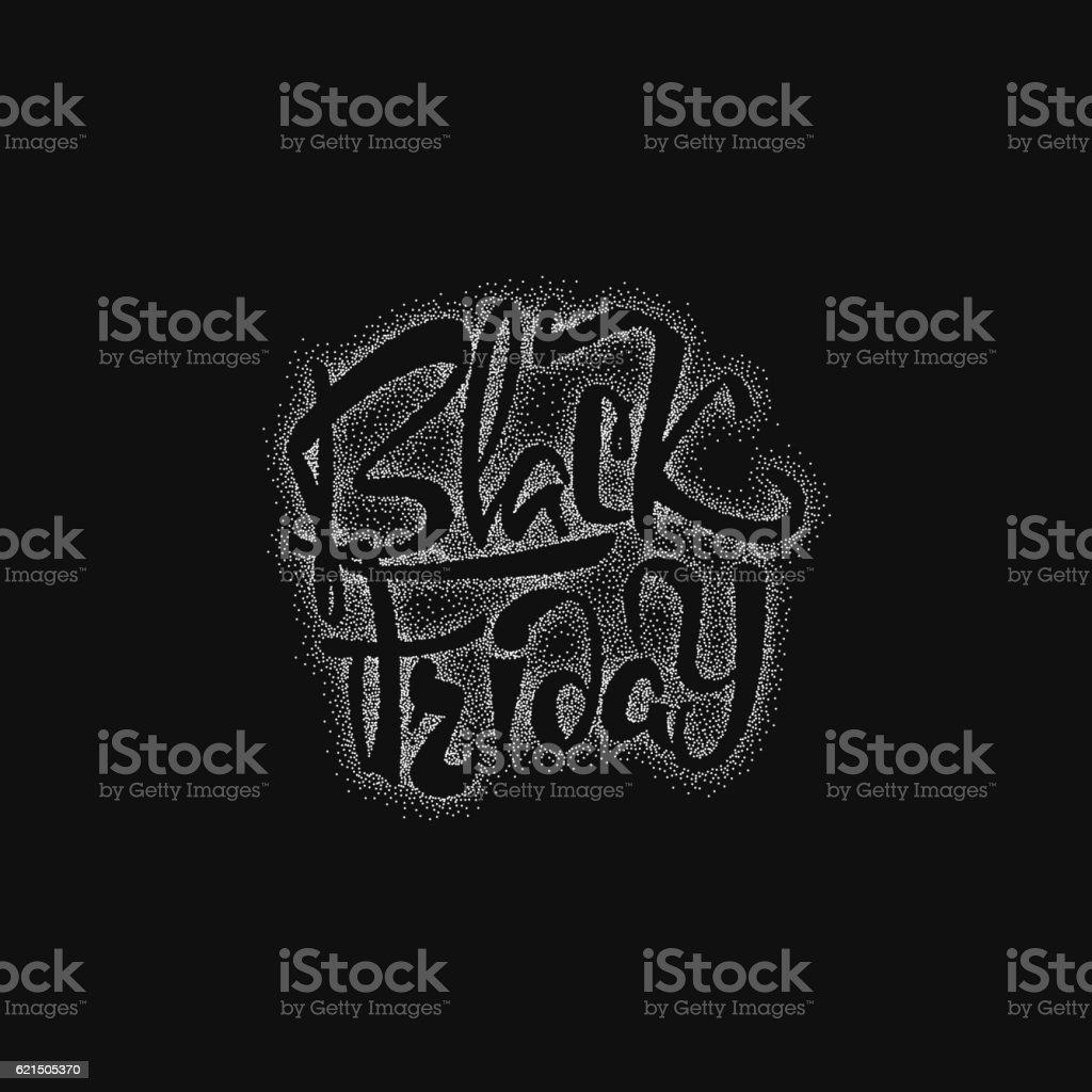 Black Friday dotworking sale - stickers, badges, has written calligraphy black friday dotworking sale stickers badges has written calligraphy – cliparts vectoriels et plus d'images de banderole libre de droits
