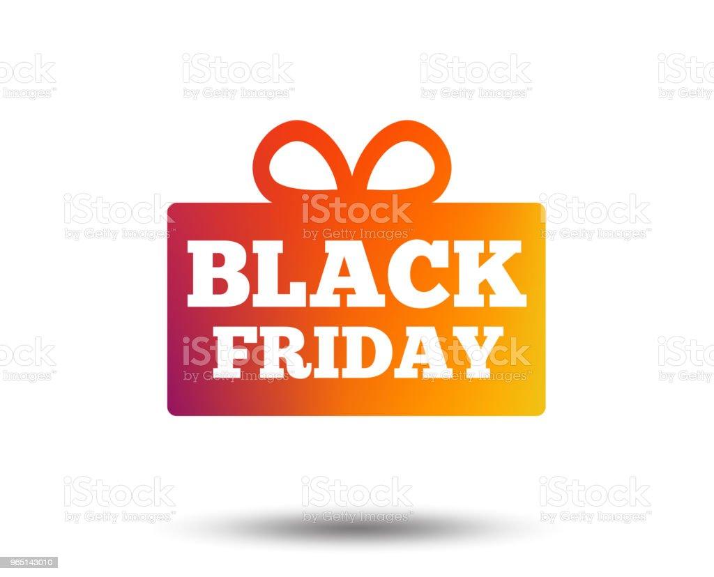 Black friday gift sign icon. Sale symbol. black friday gift sign icon sale symbol - stockowe grafiki wektorowe i więcej obrazów aplikacja mobilna royalty-free