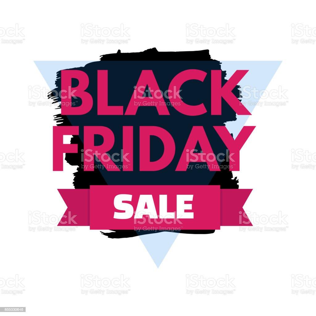 89af9ac70b Black Friday Grange Texture Sale Banner Price Tag Vector ...