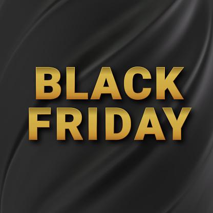 Black friday sale background. Business vector illustration.