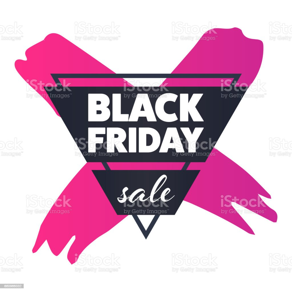 913d2299e6 Black Friday Sale Badge Tag Banner Stock Vector Art   More Images of ...