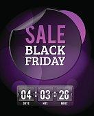 Black Friday sale badges. Black sale banner badge. Christmas sale. New year sale. Vector Black Friday labels set. Price, sale, deal, offer. Sale tag, sale badge. Business promotion coupon, voucher