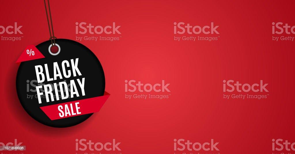 Modelo de Banner de venda sexta-feira negra. Ilustração vetorial - Vetor de Abstrato royalty-free