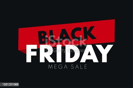 istock Black Friday Sale Banner 1331251069