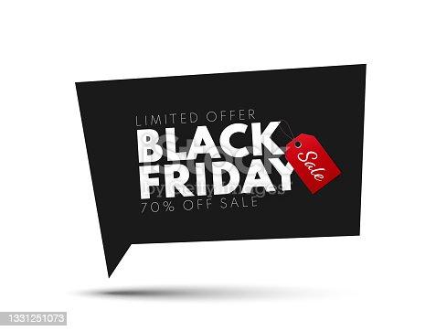 istock Black Friday Sale Banner 1331251073