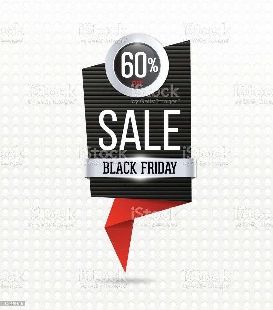 Black friday sale banner royalty-free black friday sale banner stock vector art & more images of abstract