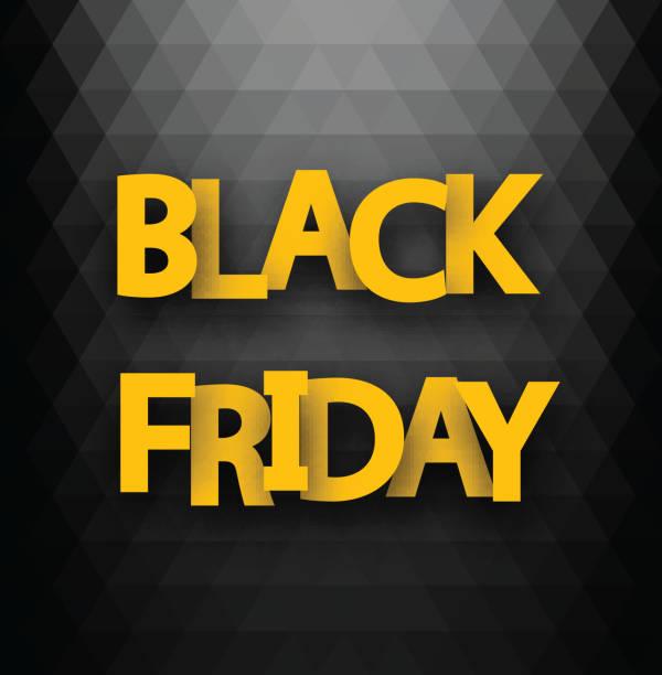검은 금요일 판매 회색 형상 프로 모션 배경. - black friday stock illustrations