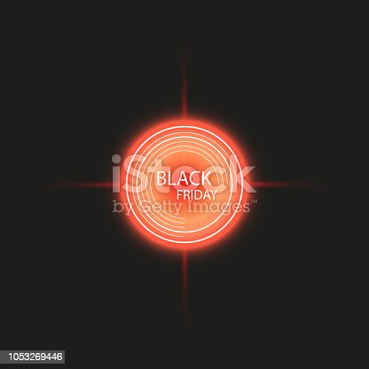Black Friday Sale handmade lettering, target background for logo, banners, labels, badges, prints, posters web