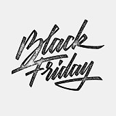 Black Friday Sale Lettering Banner