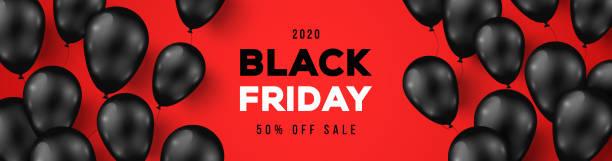 ilustrações, clipart, desenhos animados e ícones de bandeira vermelha da venda de sexta-feira preta - black friday