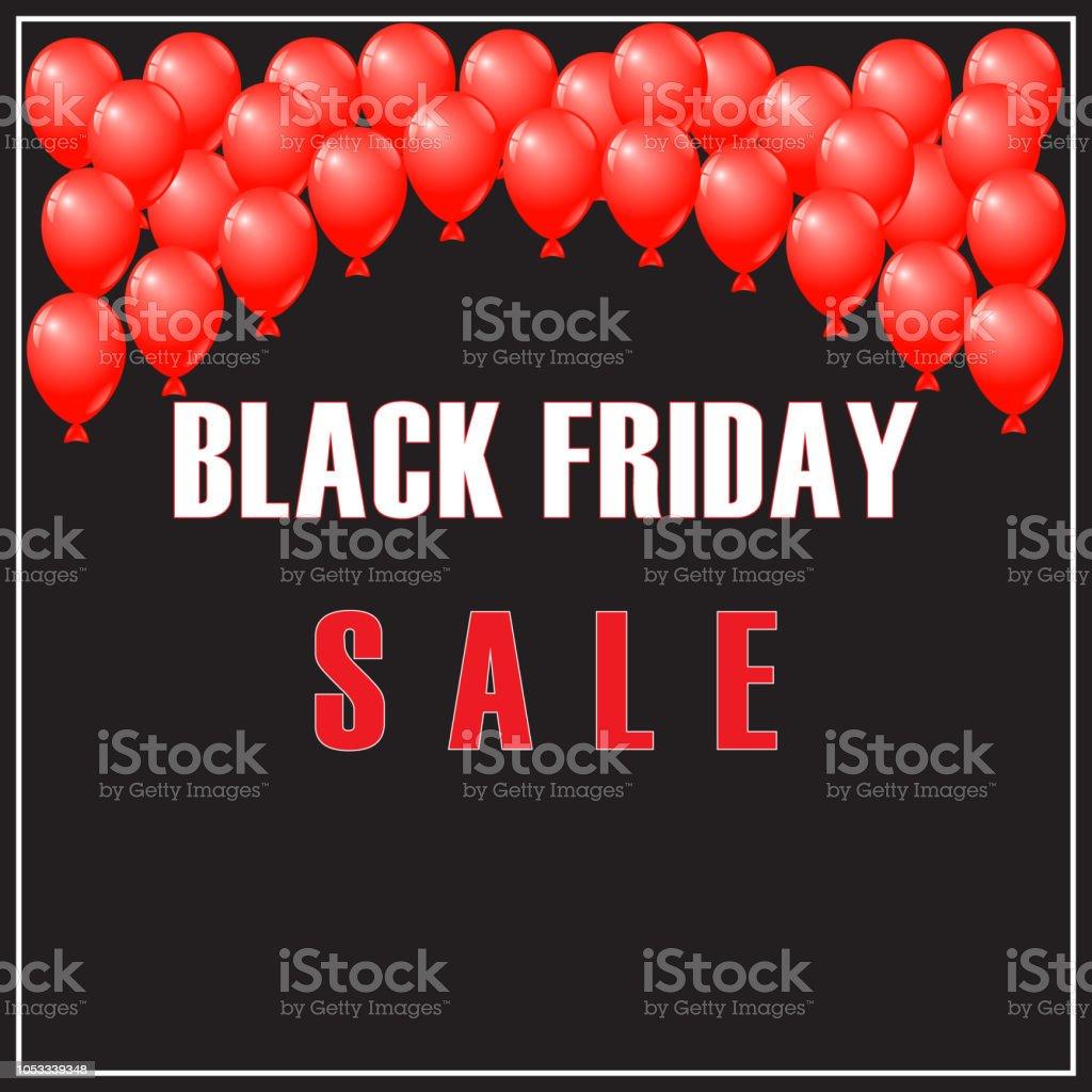 black friday sale sign banner flyer leaflet and poster