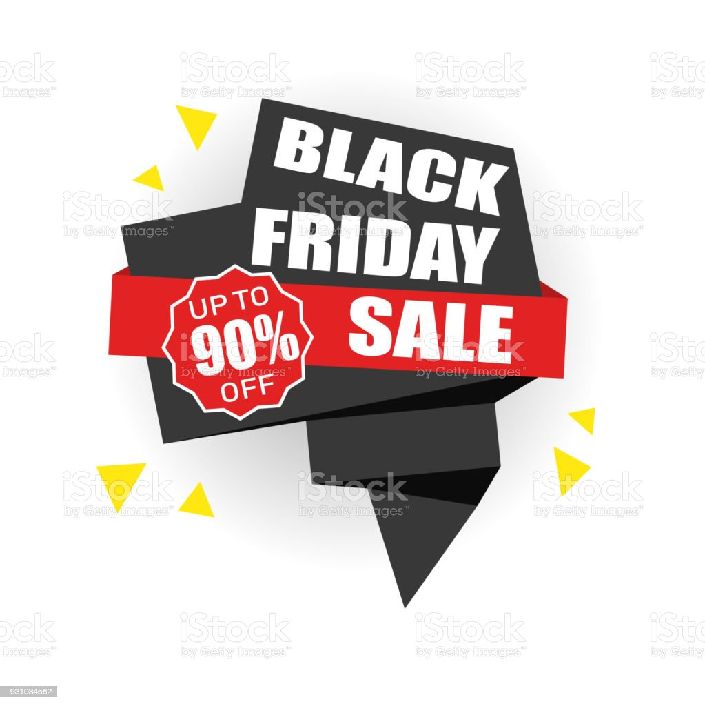 Black Friday Sale Up To 90 Off Vector Illustration Stock Illustration Download Image Now Istock