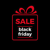Black friday sale, vector background