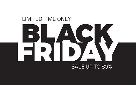 Black Friday Sale Vector Backround