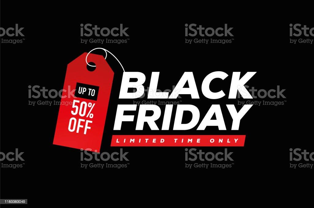 Black Friday Sale - Royalty-free Abstrato arte vetorial