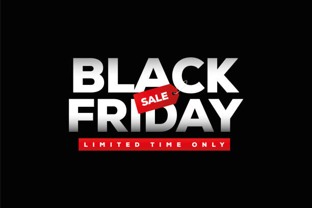 black friday sale - black friday stock-grafiken, -clipart, -cartoons und -symbole
