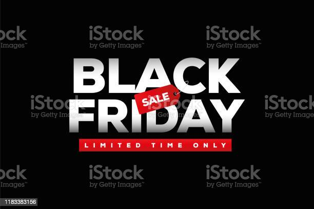 Black Friday Sale Stock Illustration - Download Image Now