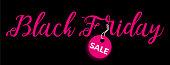 Black Friday sale, vector illustration