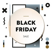 Black Friday Sale Web Banner and Social Media Template