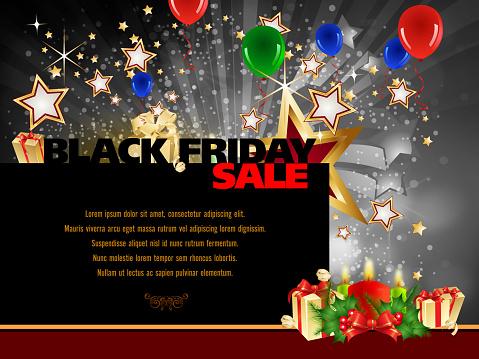 Black Friday Sales Background