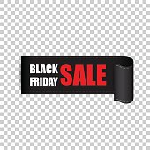 Black friday sales tag. Discount sticker vector illustration. Clothes, food, electronics, cars sale.