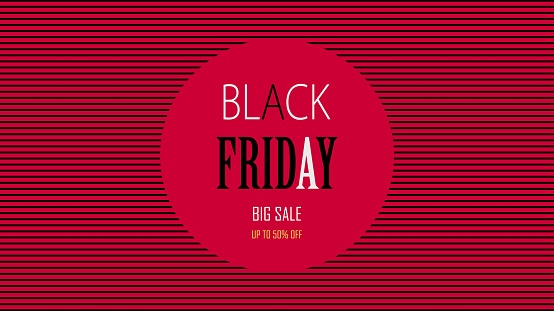 Black friday special offer. Social media web banner for shopping, sale, product promotion