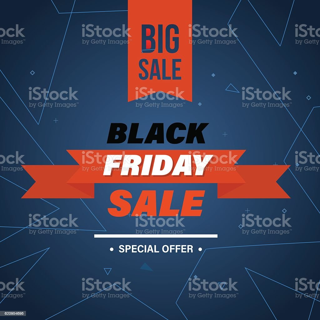 Black Friday, system of discounts for the purchase goods - arte vectorial de Abstracto libre de derechos