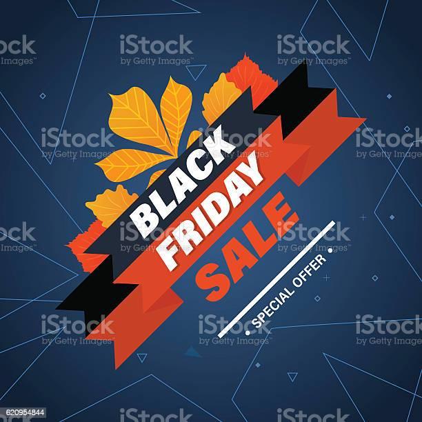 Ilustración de Black Friday System Of Discounts For The Purchase Goods y más Vectores Libres de Derechos de Abstracto