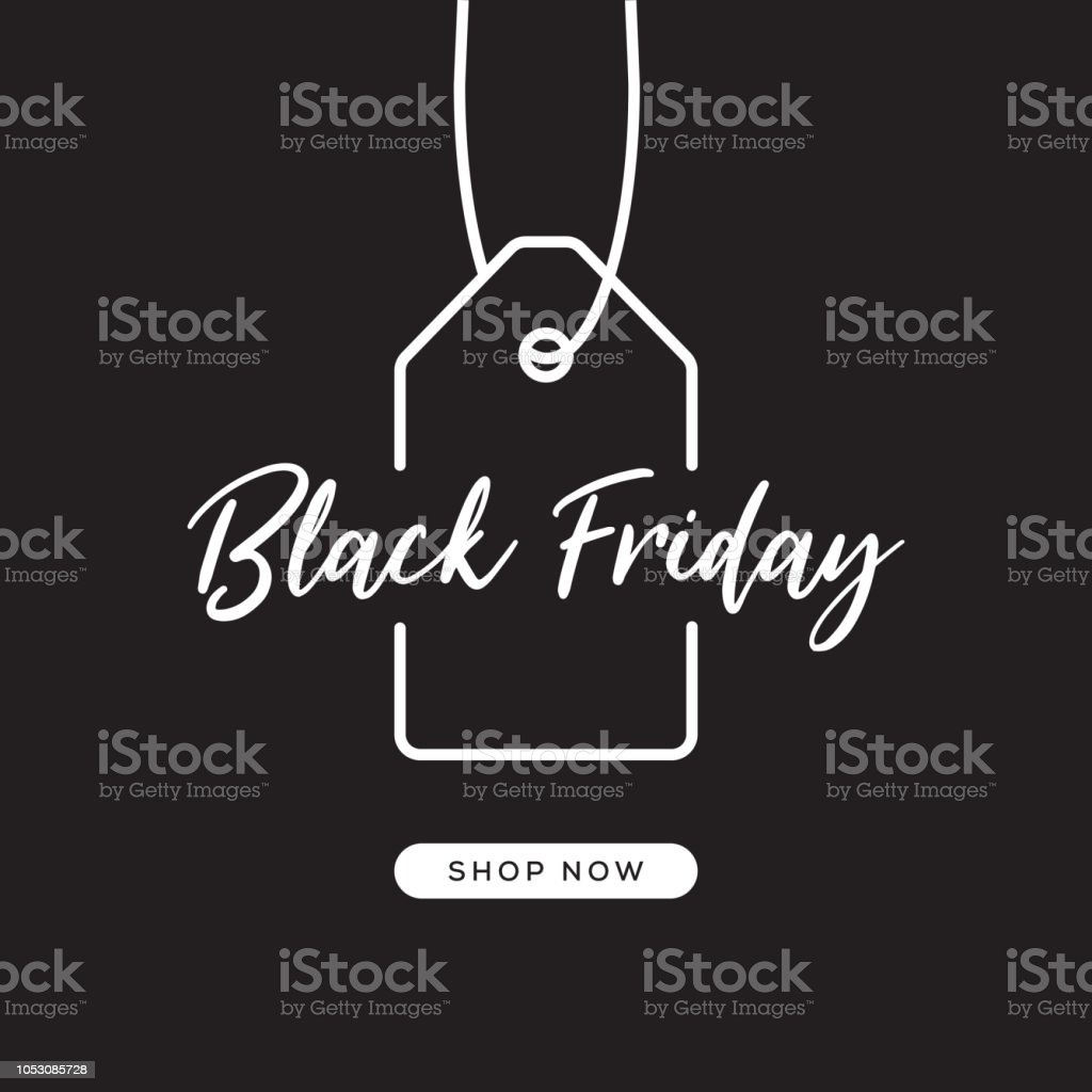 Black Friday Web Banner Design - Royalty-free Acordo arte vetorial